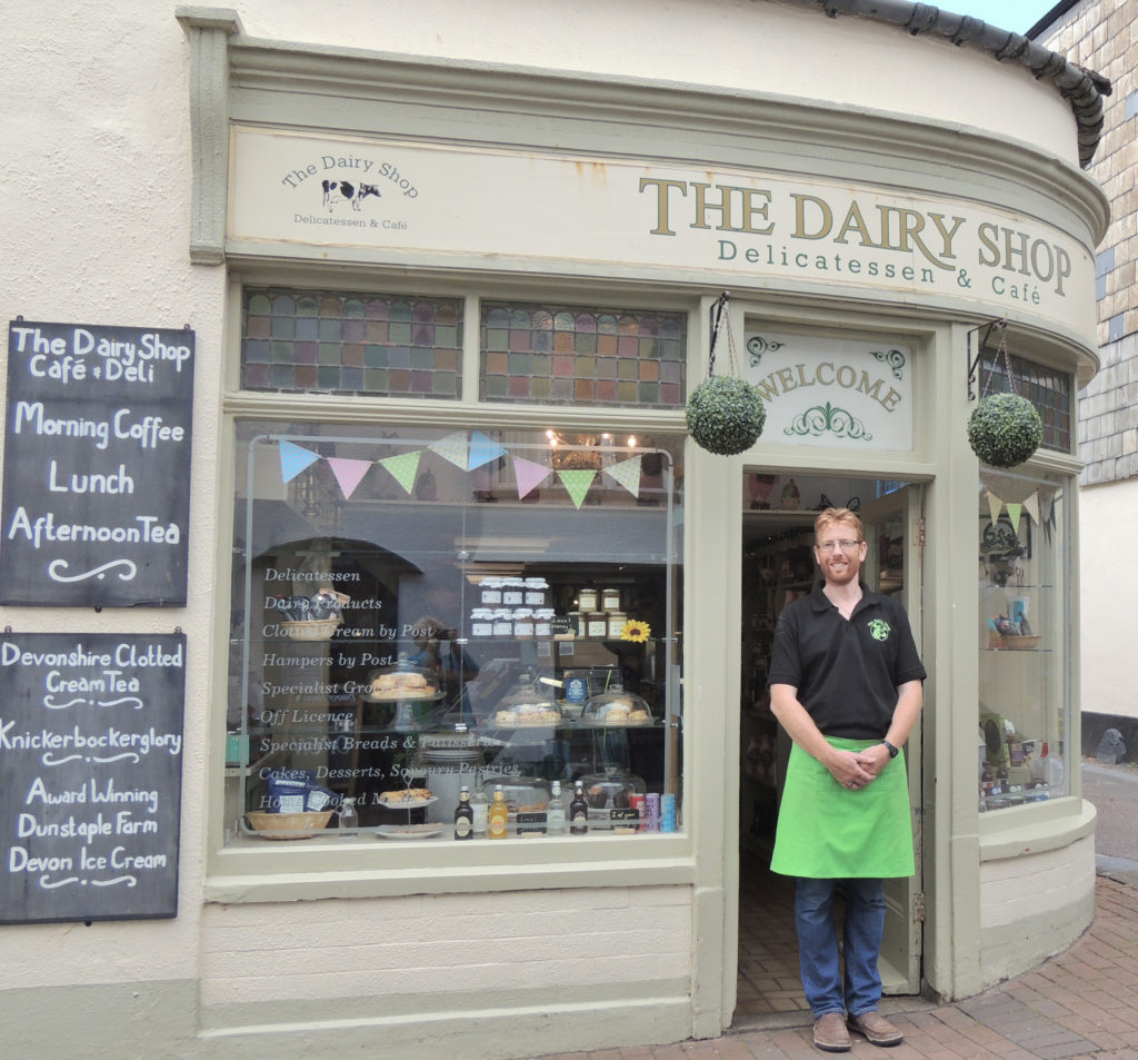 The Dairy Shop with owner John Hammond